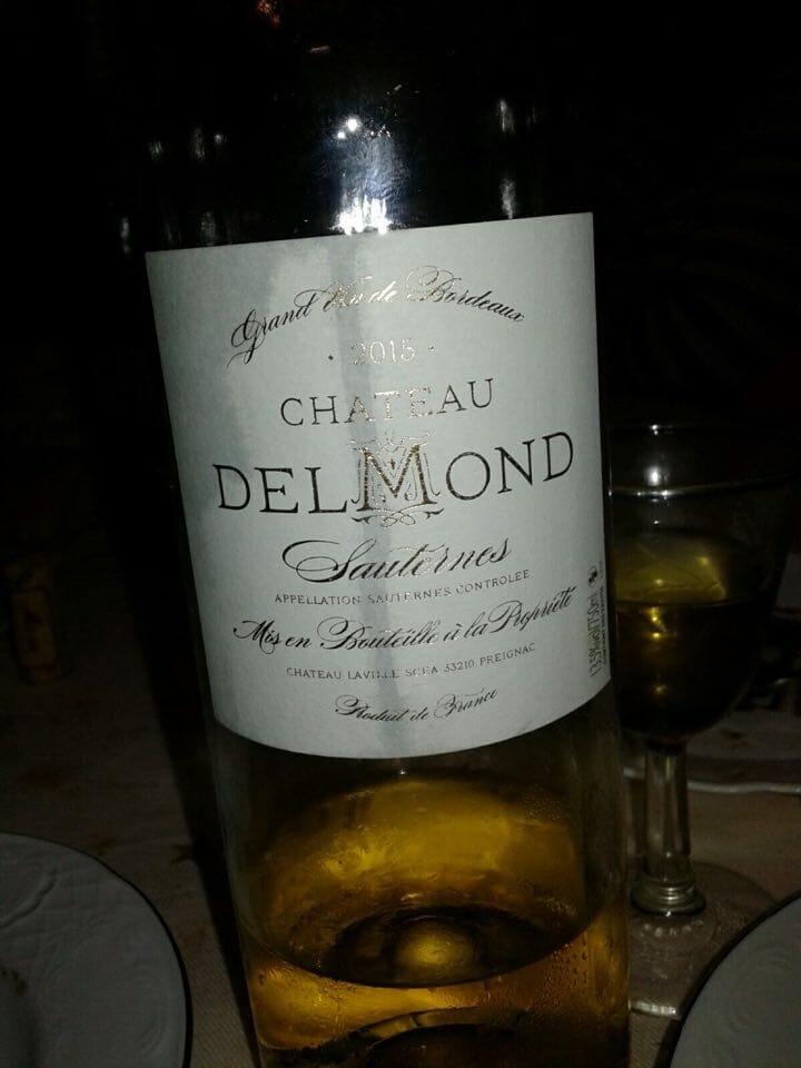 Chateau Delmond Sauternes 2015
