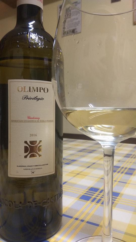 Olimpo Privilegio Chardonnay 2016