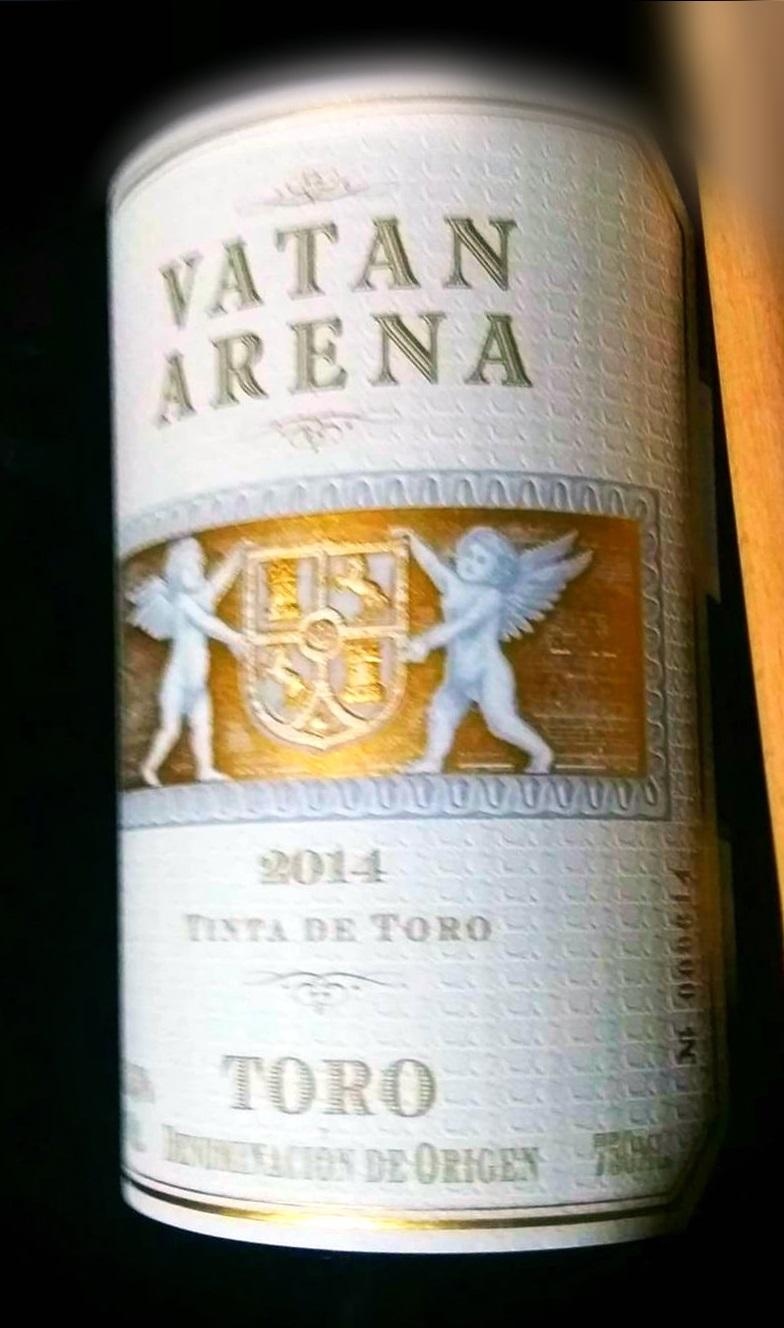 Cata del vino Vatán Arena 2014, vino de Toro