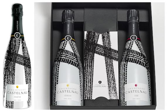 Champagne Castelnau pone en el mercado dos champagnes con botellas inspiradas en el Tour de Francia