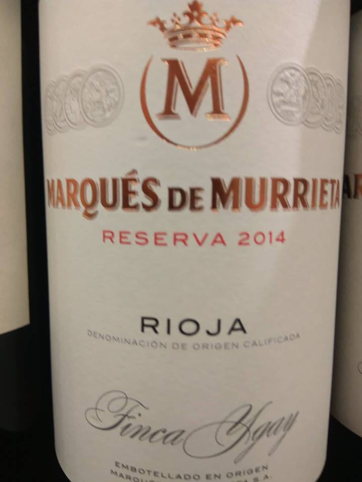 Marqués de Murrieta Reserva 2014