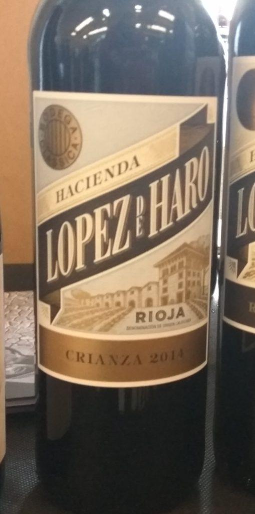 Hacienda López de Haro Crianza 2014