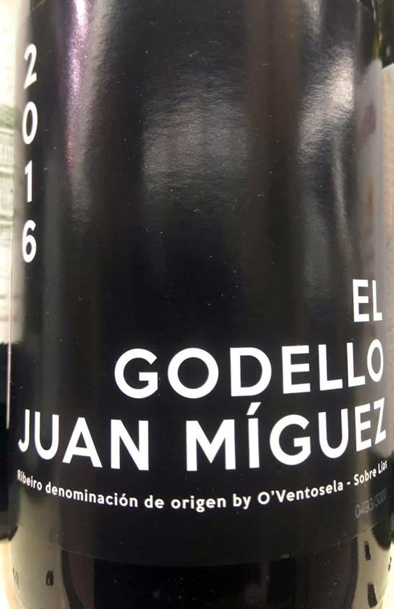 El Godello Juan Míguez 2016