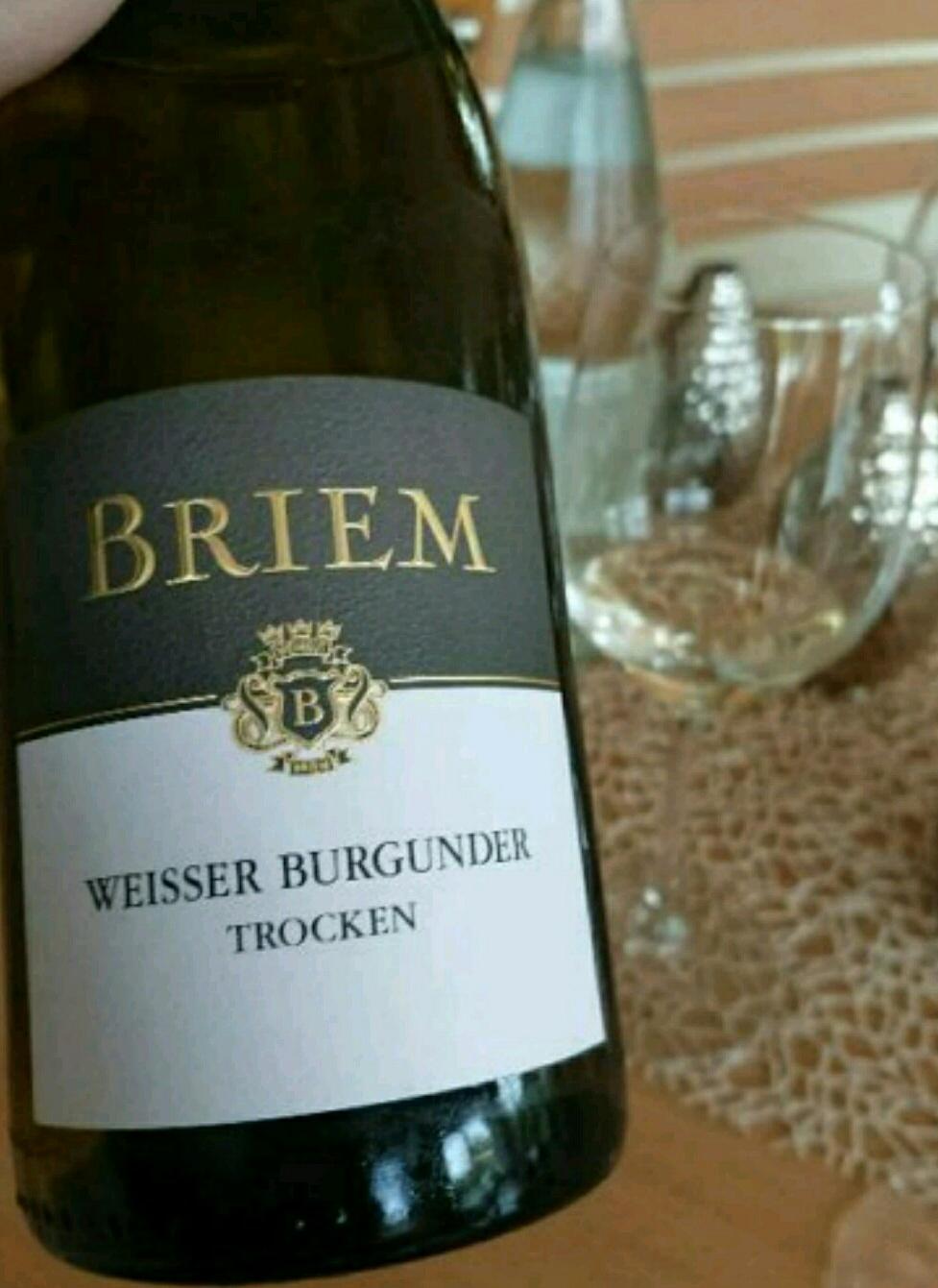 Briem Weisser Burgunder Trocken 2015