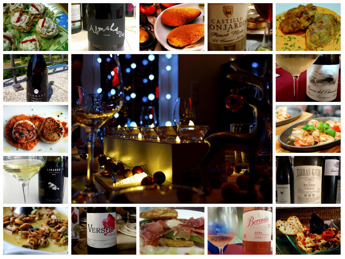 Maridajes recetas y vinos