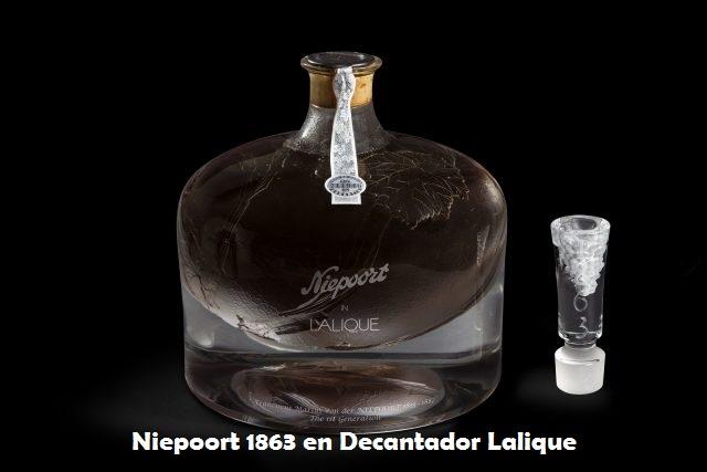 Niepoort en el decantador Lalique 1863