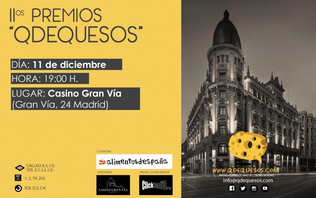 Galardonados en los Premios QDEQUESOS en su segunda edición