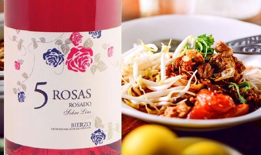 5 Rosas Rosado 2018