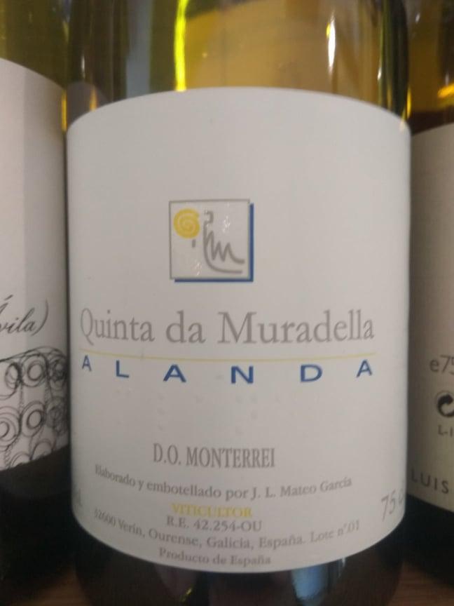 Quinta da Muradella Alanda Blanco 2016