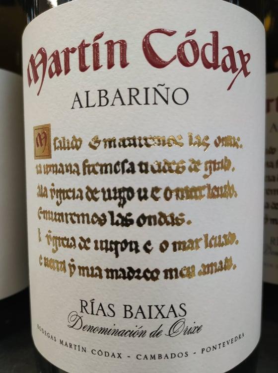 Martín Códax Albariño 2018