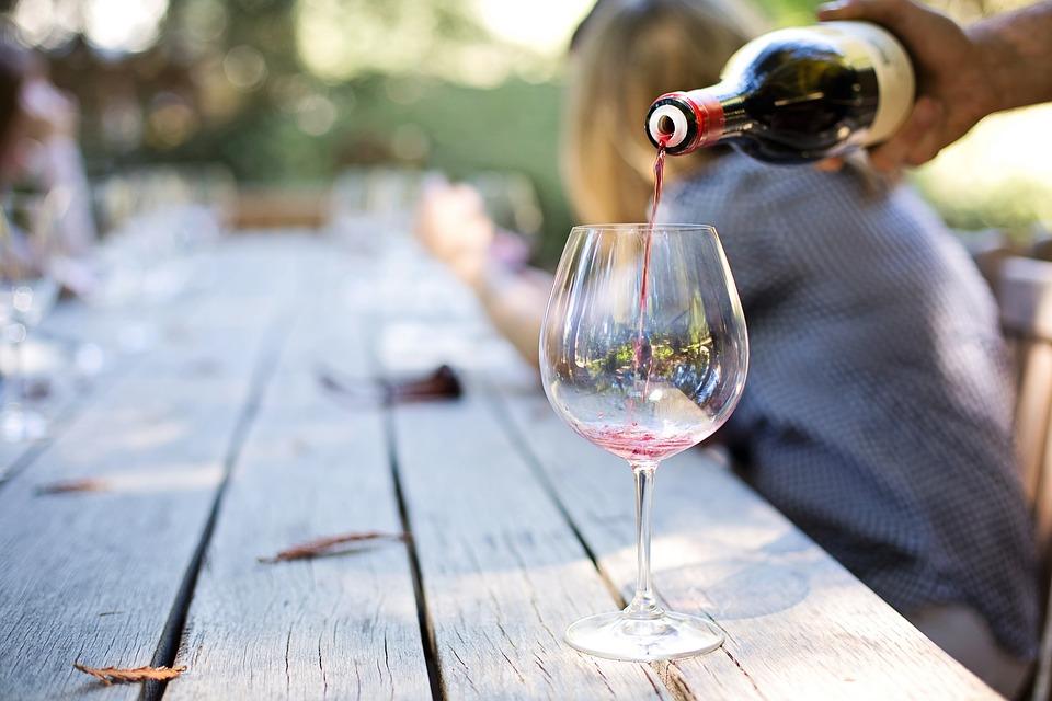 Países según el consumo de vino per cápita