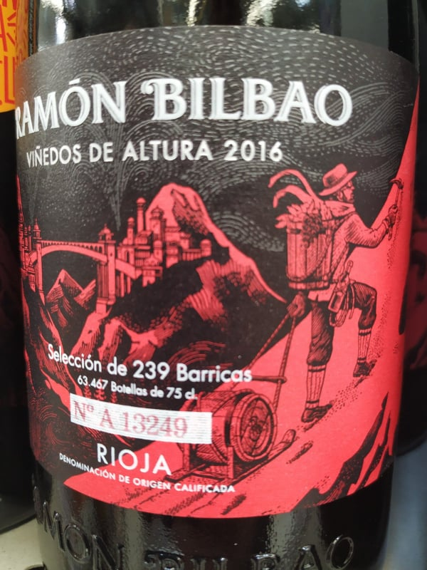 Ramón Bilbao Viñedos de Altura 2016