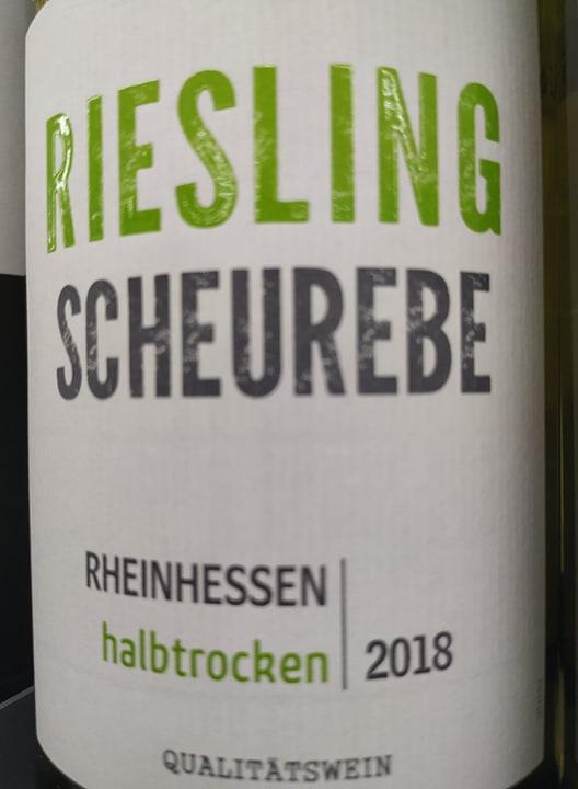 Riesling Scheurebe Rheinhessen halbtrocken