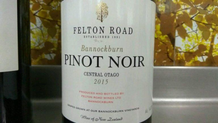 Pinot Noir Bannockburn 2015