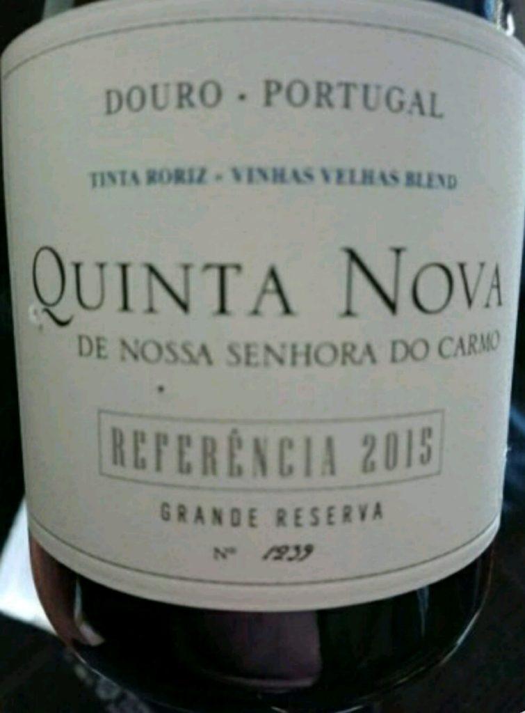 Quinta Nova de Nossa Senhora do Carmo Douro Grande Reserva Referencia 2015