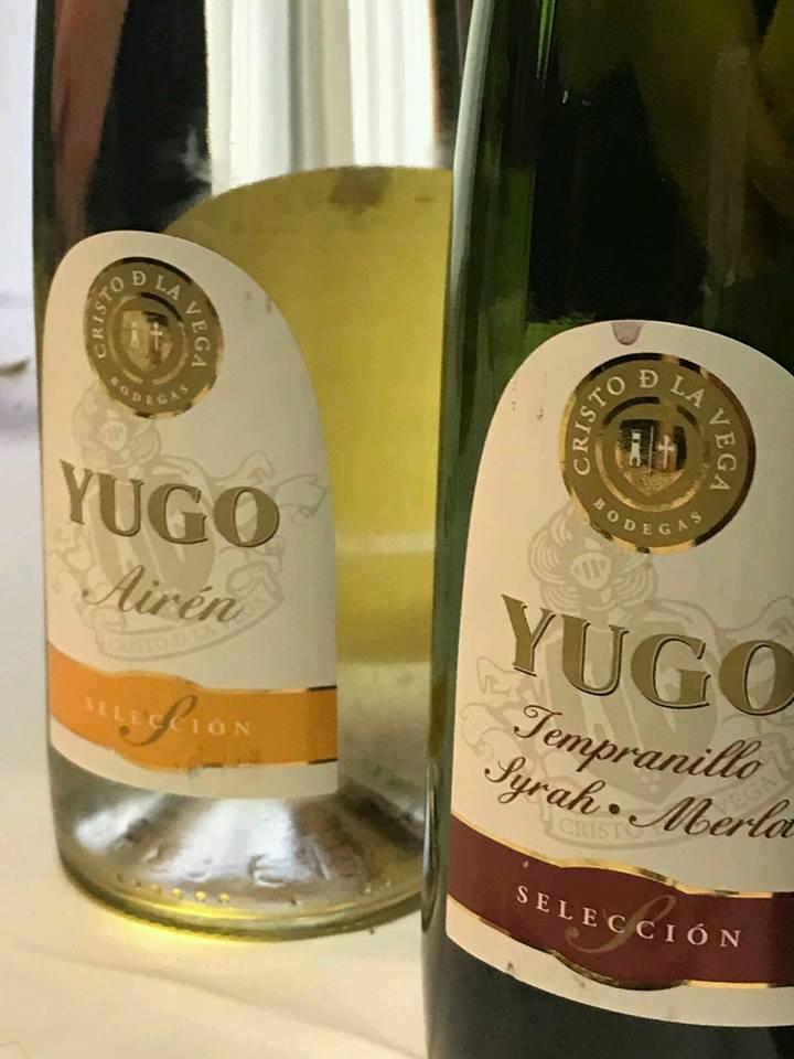 Yugo Blanco Airen 2018 y Yugo Tinto 2018