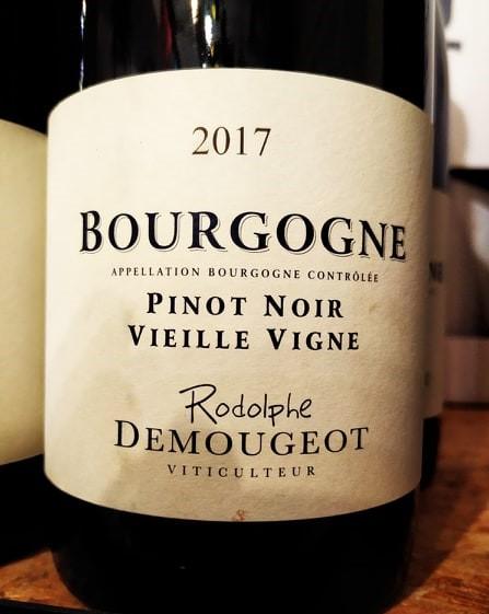 Rodolphe Demougeot Pinot Noir Vieille Vigne 2017